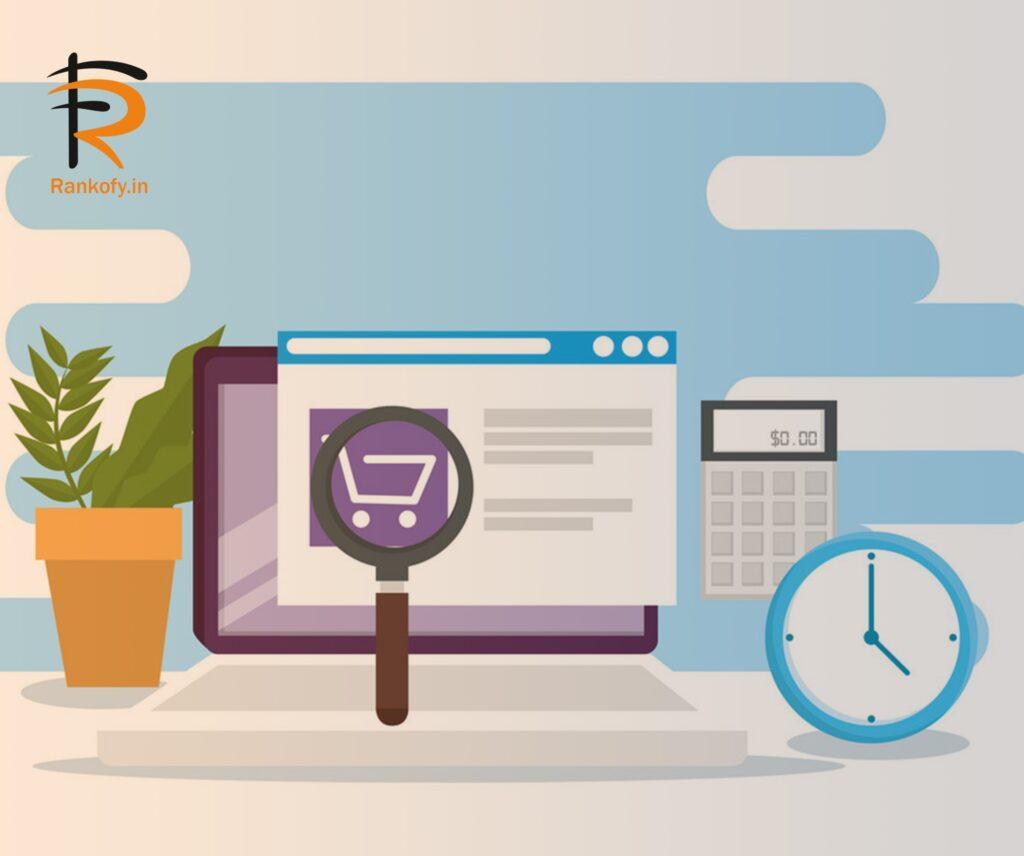 e-commerce marketing website
