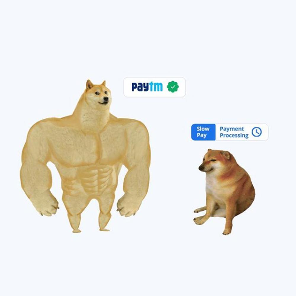 memes posting as marketing stragegy of paytm